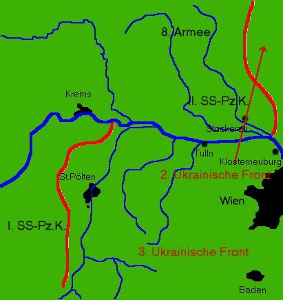 Schlachtfelder Des 2 Weltkriegs Karte.Front Letzte Kriegstage